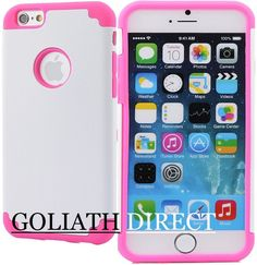 For Apple iPhone 6 4.7 inch  Armor Impact Defender Skin Case Silicone/Gel/Rubber #UnbrandedGeneric