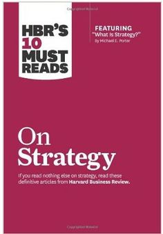 Contains a selection of the most important articles published by the Harvard Business Review to help you catalyze your organization's strategy development and execution. This book will inspire you to: Distinguish your company from rivals. Clarify what your company will - and won't - do. Craft a vision for an uncertain future. Create blue oceans of uncontested market space. Use the balanced scorecard to measure your strategy. Capture your strategy in a memorable phrase. (...) Cote : 4-2 POR