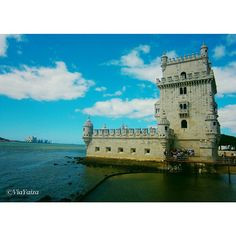 Torre de Belém was built with the function of protecting the city of #Lisbon