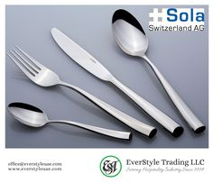 Flatware from highest quality, with their extraordinary designs and perfect functionality, allow for innovation and creativity. Flatware, Switzerland, Innovation, Creativity, Tableware, Design, Dinnerware, Cutlery, Dishes