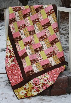 Pattern Lap Quilt Wooly Critters by GabbysQuiltSupplies on Etsy, #crafts #pattern #quilts---maybe something like this for Emily's quilt