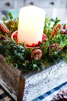 """They say, """"It's all about the details"""". And as a decorator, I think that is very true. Especially when it comes to decorating for Christmas. I'd rather have a couple beautiful displays full of amazing detail than a whole bunch of Christmas tchotchkes and other decorations put all over a room just because it's time more »"""