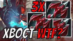 DOTA WTF BUILD x3 Dragon Lance Phantom Assassin XBOCT Dota 2 Gameplay