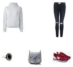 O 5 by eftimie-gabriela on Polyvore featuring Le Kasha, Frame, New Balance, Chloé and Accessorize