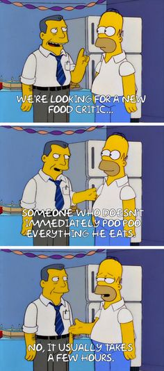 """From """"Guess Who's Coming to Criticize Dinner"""": 