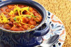 Chili de fasole neagră cu cartofi dulci - Retete culinare - Romanesti si din Bucataria internationala
