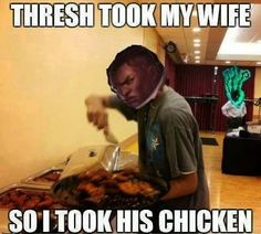 Thresh will regret the day he messed with Lucian! Follow ovy leagueoflegends #lol #leagueoflegends #lucian #tresh