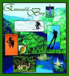 Emerald Bay California Tapestry
