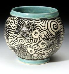 Bass River Pottery | Sgraffito