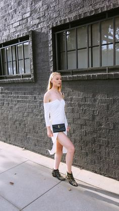 049cbb35fe7183 Off the Shoulder Dress x Revolve Clothing