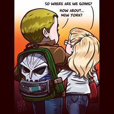 "watsoncroft:  lordmesa-art:  ""Where To?""  #arrow #oliverqueen #stephenamell #felicitysmoak #emilybettrickards #lordmesaart #mangastudioartex5 #olicity  I love the toothbrush and toothpaste detail. Great job!"