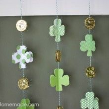 Learn how to make these adorable Paper Shamrocks. They are a fun St. Patrick's Day Craft that the kids can help with too. Just a few simple supplies is all you need. These Paper Shamrocks are easy enough for the kiddos to help with too! While they are similar to the Valentine's Day Paper Hearts, …