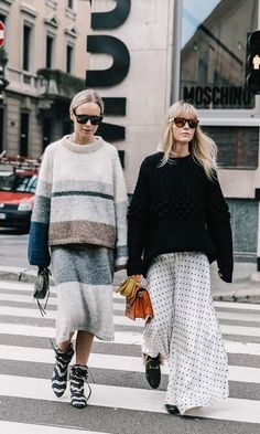 'Tis the season for sweaters! Click to see our style tips on the best pieces to pair sweaters with.