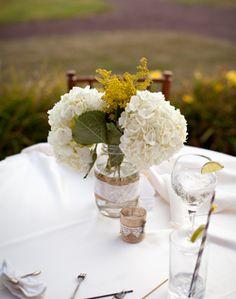 WeddingChannel Galleries: Cocktail Hour Centerpieces