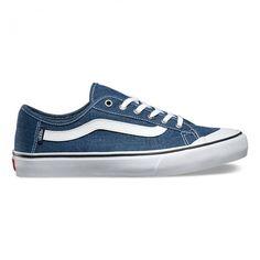 Black Ball SF Surf Washed Ensign Blue Shoes for men by Vans