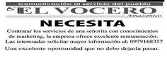 #ClippedOnIssuu from El Vocero Amazónico