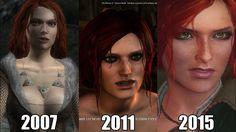 Ewolucja Triss Merigold | Gaming Nest