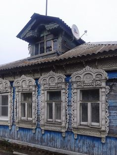 Wooden Architecture, Russian Architecture, Architecture Details, Wooden Window Frames, Wooden Windows, Arch Building, Building Design, Morrocan Doors, Monuments