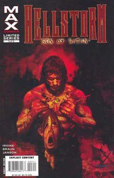 Son of Satan Marvel Modern Age Horror & Sci-Fi Comics Marvel Max, Hq Marvel, Dc Comics Characters, Marvel Comic Character, Comic Book Covers, Comic Books Art, Book Art, Marvel Future Fight, Ultimate Marvel