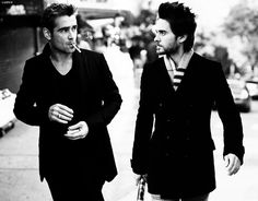 Colin Farrell and Jared Leto! Love them both!!