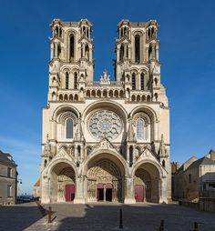 Catedral de Laon 3 naves