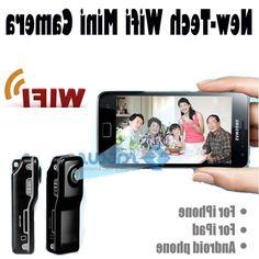36.99$ (Watch more - https://alitems.com/g/1e8d114494b01f4c715516525dc3e8/?i=5&ulp=https%3A%2F%2Fwww.aliexpress.com%2Fitem%2FMobile-wireless-wifi-network-remote-monitoring-of-ultra-small-micro-camera-hidden-mini-dv%2F1740428382.html) Mobile Security Camera wireless wifi network remote monitoring ultra-small micro camera mini dv P2P 640*480 iOS