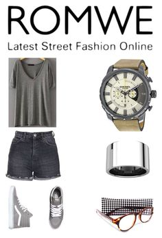"""""""Street Fashion"""" by goldia ❤ liked on Polyvore featuring Topshop and Vans"""