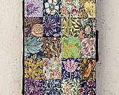 iPhone 5 or 6 case - flip - William Morris - Floral - Patchwork - Design - Cover - Phone - Mobile - Samsung Galaxy Mobile Phone Cases, Phone Covers, Iphone 4, Iphone Cases, Patchwork Designs, Samsung Galaxy S3, William Morris, 6 Case, Cover Design