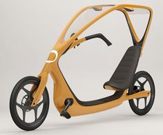 Bicycle with a Roof - Cool bike designed by Torkel Dohmers with a clear roof.
