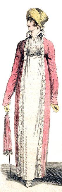 Promenade Dress, July 1809.
