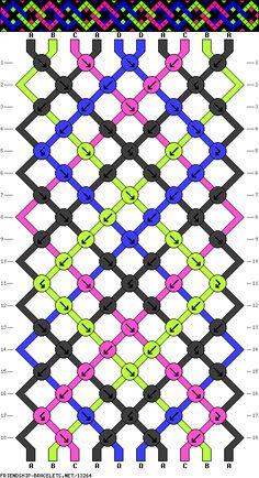 10 strings, 4 colors