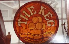 Keg Contract window Stained Glass, Decorative Plates, Table Lamp, Windows, Paper, Home Decor, Homemade Home Decor, Table Lamps, Stained Glass Windows
