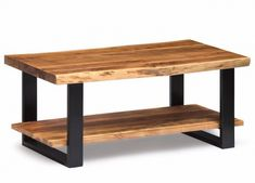 The Alpine Collection is a Live Edge collection with a sophisticated combination of Metal and Organic Wood. The Coffee Table will be the signature piece and complement the decor in your home. This beautiful piece of furniture will make a statement in your living space.