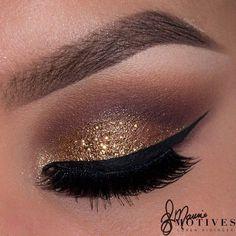 Motives Gold Glitter