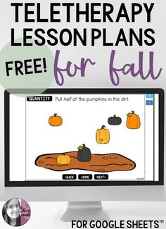 Are you looking for some themed activities for teletherapy this fall? This FREE Google spreadsheet for SLPs includes links to autumn resources, websites, books, videos, games, and more. Add it to your Google Drive and you're set to save yourself tons of time with planning therapy for speech and language students. Speech Therapy Organization, Speech Therapy Activities, Language Activities, Group Activities, Speech Language Pathology, Speech And Language, Kids Therapy, Therapy Ideas, Kindergarten Lessons
