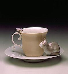 Taza de la firma Lladró, 1994