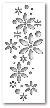 Poppystamps 1823 Floribunda Collage wafer thin craft die made from steel. Use on cardstock, felt, fabric, and shrink plastic. Stencil Printing, Stencil Templates, Stencil Patterns, Stencil Designs, Paint Designs, Stencil Decor, Stencil Art, Jaali Design, Pvc Pipe Crafts