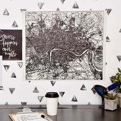 London Map Decal