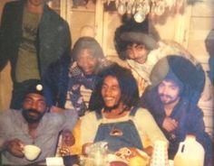 **Bob Marley** & Company, Swingos Hotel, Cleveland, OH, USA, May 19, 1978. More fantastic pictures, music and videos of *Robert Nesta Marley* on: https://de.pinterest.com/ReggaeHeart/ ©John Golubic