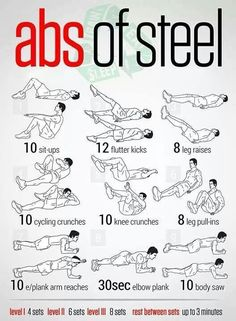 .Awesome fitness exercises