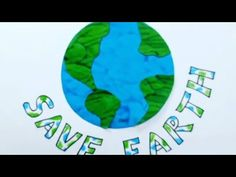EARTH DAY PROJECT IDEA - YouTube Earth Drawings, World Earth Day, Earth Day Projects, Save Environment, Cool Stuff, Youtube, Youtubers, Youtube Movies