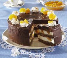 Čokoládový dort s mandarinkami - Recepty na každý den