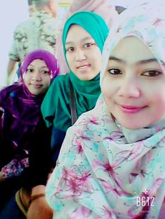 With Icha Hijabers Muach