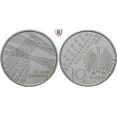 Bundesrepublik Deutschland, 10 Euro 2003, Volksaufstand 17. Juni 1953, A, bfr., J. 500: 10 Euro 2003 A. Volksaufstand 17. Juni 1953.… #coins