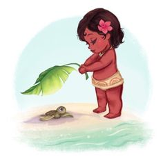 Just look at Moana! Now that's what you call a Pacifist!
