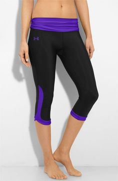 #turbo fire pants!!! Under Armour 'Shatter' Capris available at #Nordstrom
