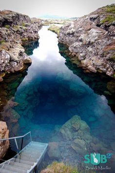 The only place where you can dive or snorkel directly in the crack between two continental plates. Often credited with the clearest water on earth, the underwater visibility in the Silfra fissure is over 100 meters, which creates an underwater experience that will rarely, if ever, be surpassed.