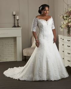 Dress Style 1405 From The Unforgettable Plus Size Collection By Bonny Bridal