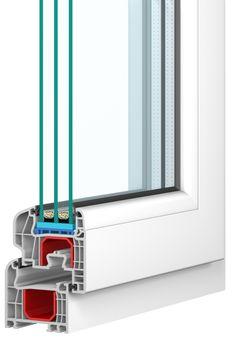 IGLO5 Fenster mit dem GL SYSTEM von Drutex. Mit sanft abgerundeten Profilkanten und überdeckter Außendichtung präsentiert sich das IGLO5 GL SYSTEM als eines der beliebtesten Fenster der IGLO5 Serie.