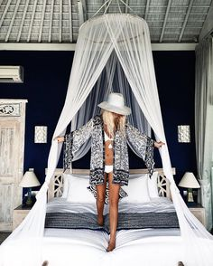 Bedroom goals ☁️ check out my Bali adventures on the blog today www.gypsylovinlight.com @bobbybense #bali #travel